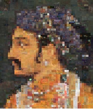 Rashid Rana, I love miniatures, 2002